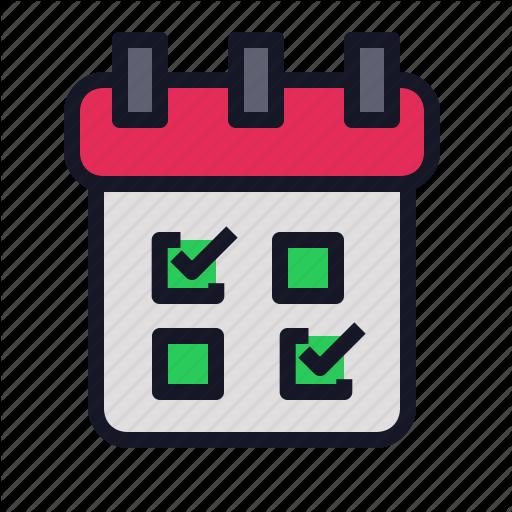Business, Calendar, Economics, Iteration, List Icon