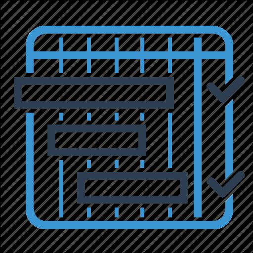 Iteration, Management, Milestones, Schedule Icon
