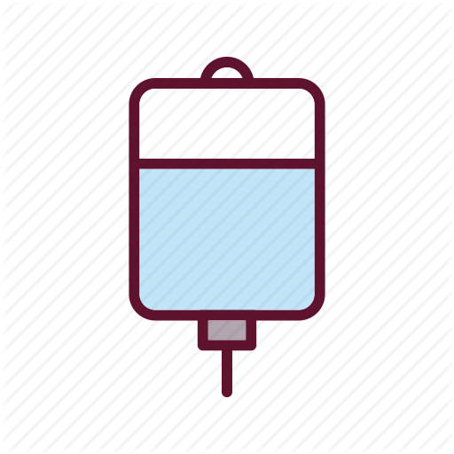 Blood, Drip, Infusion, Iv Icon