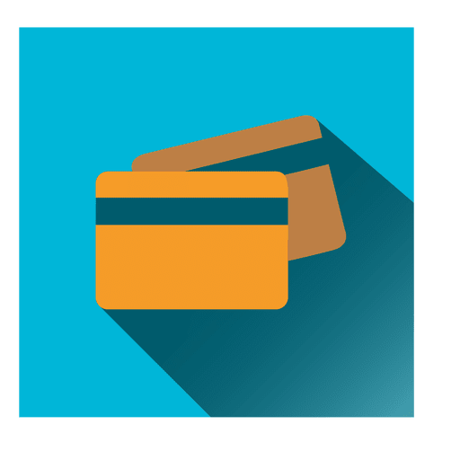 Bank Cards Square Icon