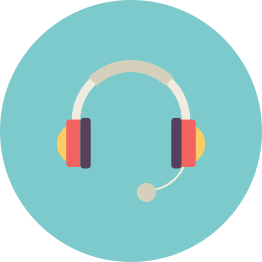 Headset Icon Free Of Flat Retro Communications Icons