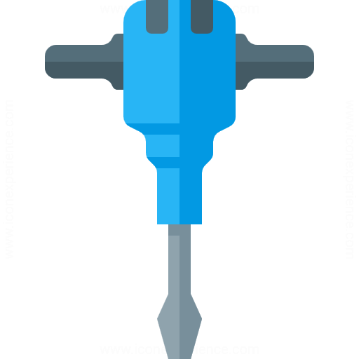 Iconexperience G Collection Jackhammer Icon