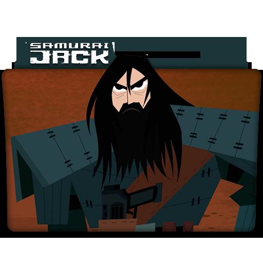 Samurai Jack Tv Series Folder Icon