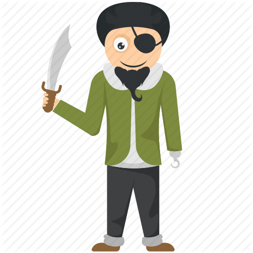 Cartoon Boy, Halloween Character, Halloween Costume, Jack Sparrow