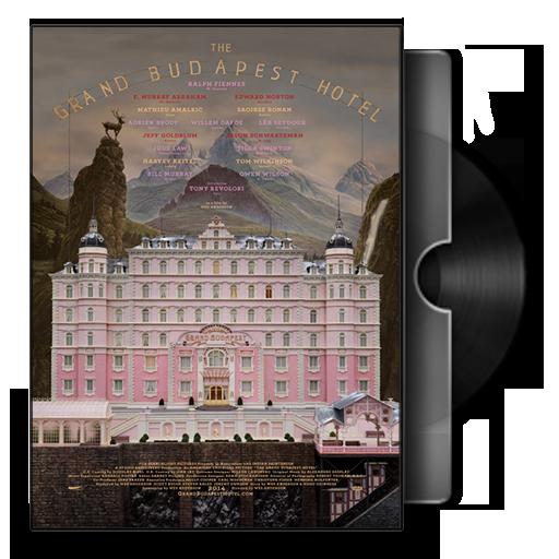 The Grand Budapest Hotel Folder Icon