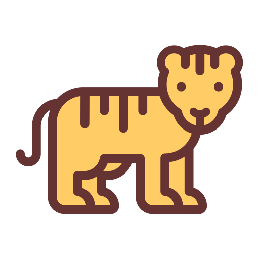 Tiger, Angry Tiger, Animal Icon With Png And Vector Format