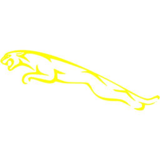 Yellow Jaguar Icon