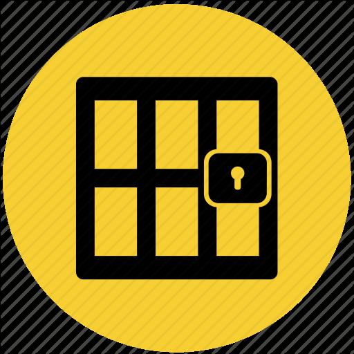 Cell, Jail, Law, Prison, Punishment Icon