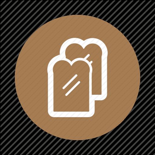 Bread, Breakfast, Food, Jam Icon