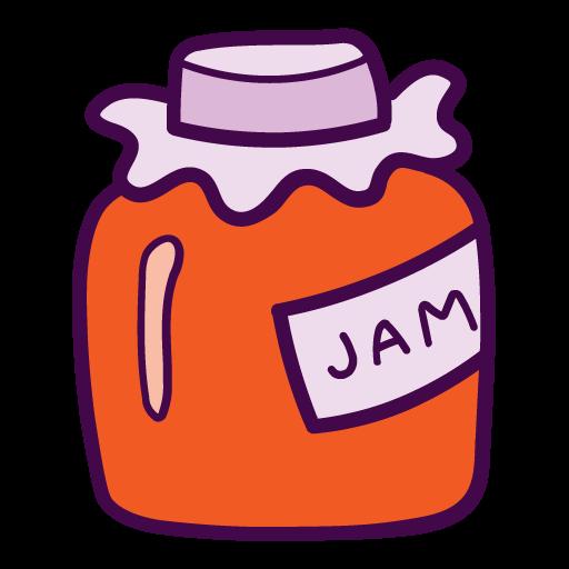 Jam, Bottle Icon Free Of Autumn Hand Drawn