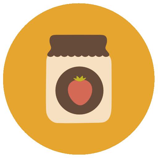 Jam Icon Linear Food Set Freepik