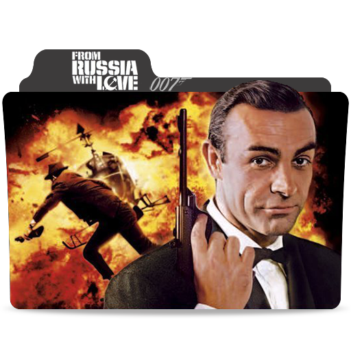 James Bond From Russia With Love Folder Icon