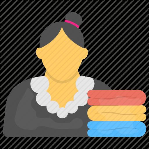 Homemaker, Housekeeper, Janitor, Maid, Servant Icon