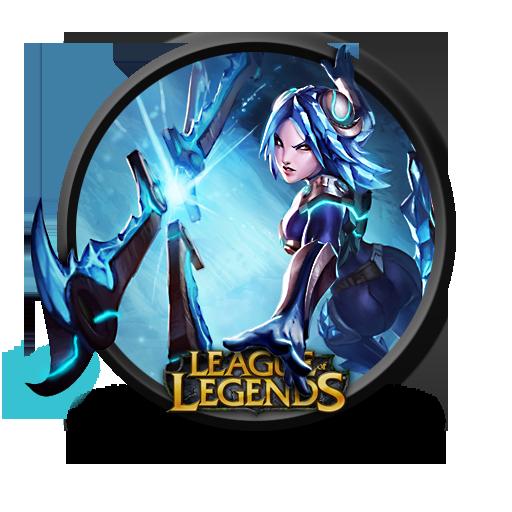 Irelia Frostblade Icon League Of Legends Iconset