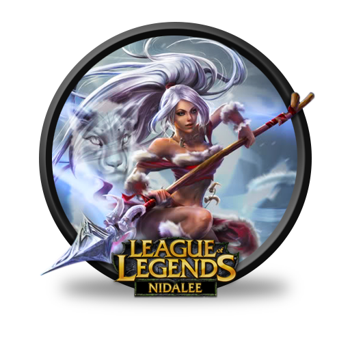Nidalee Snow Bunny Chinese Artwork Icon League Of Legends