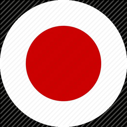 Circle, Country, Flag, Japan, Japanese, Ninja, Nippon Icon