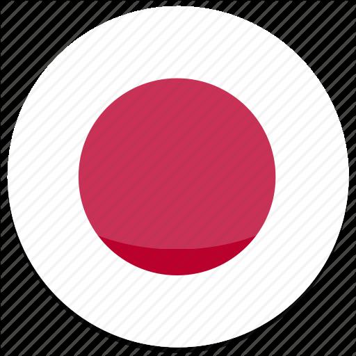 Circle, Flag, Flags, Japan, Round Icon