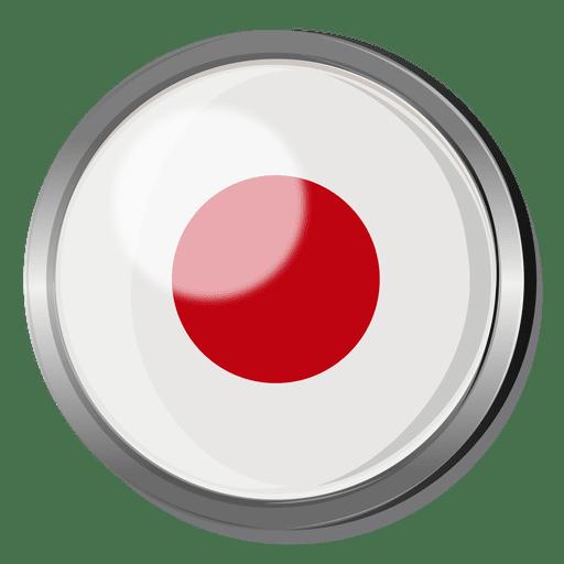 Japan Flag Badge