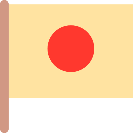 Nation, Flag, Maps And Flags, Country, Rising Sun, Japan Icon