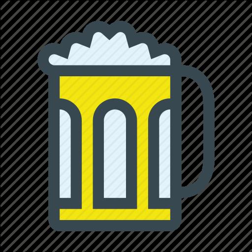 Alcohol, Beer, Beverage, Drink, Jar Icon