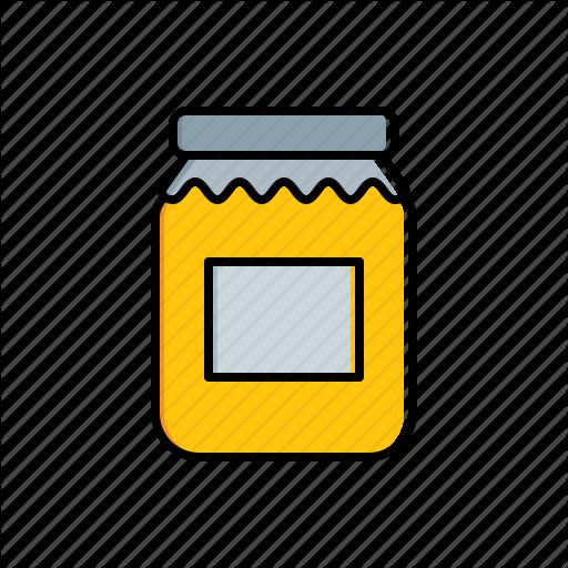 Food, Jam, Jar Icon
