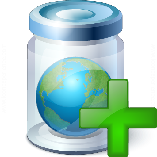 Iconexperience V Collection Jar Earth Add Icon