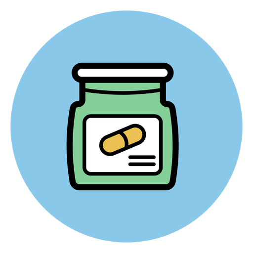 Pill Jar Icon