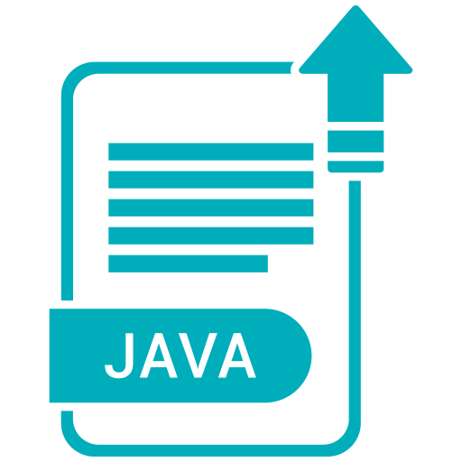 Extension, File, Format, Java, Paper Icon