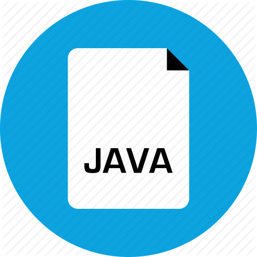 Extension, File, Java Icon