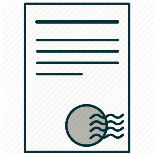Agreement, Bill, Document, Print, Securities, Stamp Icon