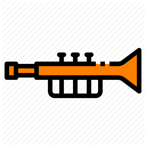 Instrument, Jazz, Music, Song, Trumpet Icon