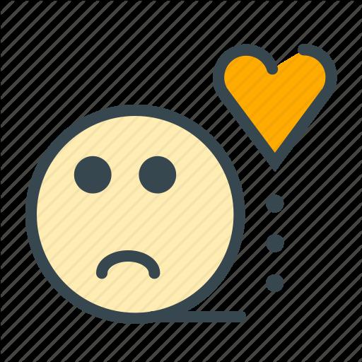 Bored, Emoitocn, Face, Heart, Love, Marriage, Sad Icon