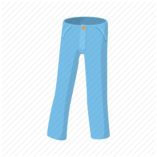 Back, Background, Blue, Cartoon, Clothes, Fashion, Jeans Icon