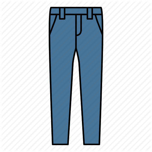 Denim, Jeans, Pant, Trouser Icon