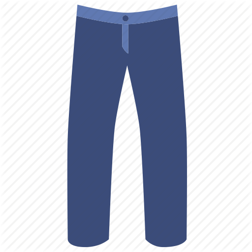 Denim, Jeans, Pants, Trouser Icon