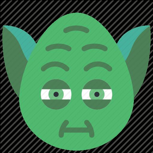 Emojis, Emotion, Jedi, Star, Star Wars, Wars, Yoda Icon