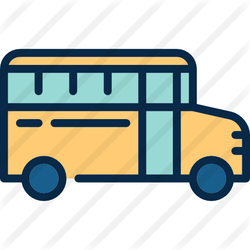 School Bus Free Vector Icons Designed