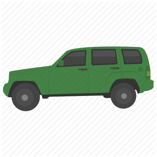 Jeep, Luxury Vehicle, Transport, Urban Automotive, Vehicle Icon