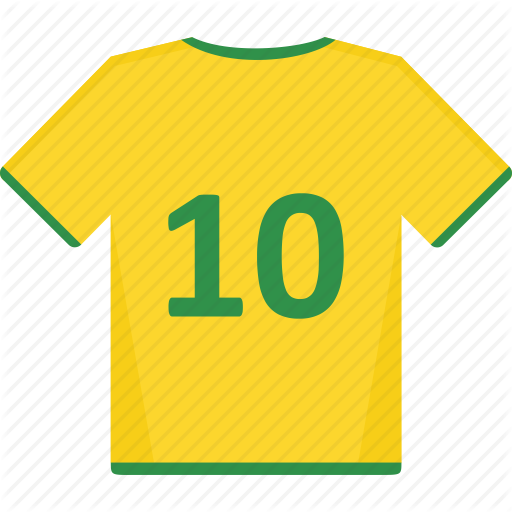 Back, Football, Jersey, Shirt, Soccer Icon