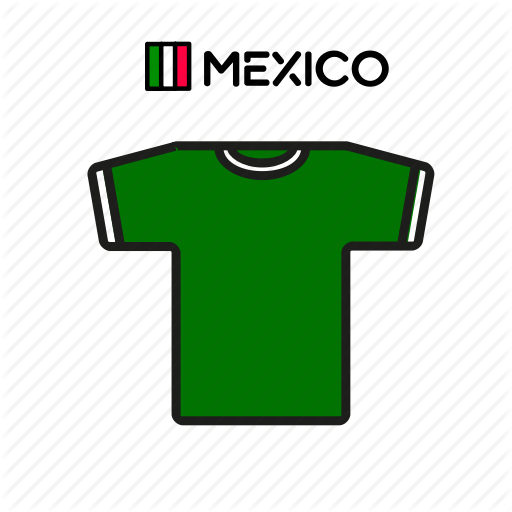 Cup, Football, Jersey, Mex Shirt, Soccer, World Icon
