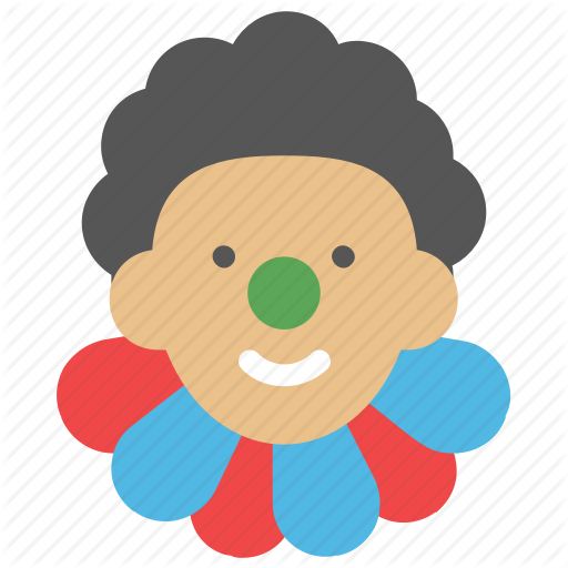 Clown, Clown Face, Comedian, Comic Performer, Jester Icon