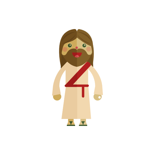 Jesus, Christmas Icon Free Of Christmas Icons In Flat