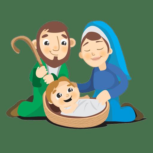 Birth Of Jesus Christ Cartoon