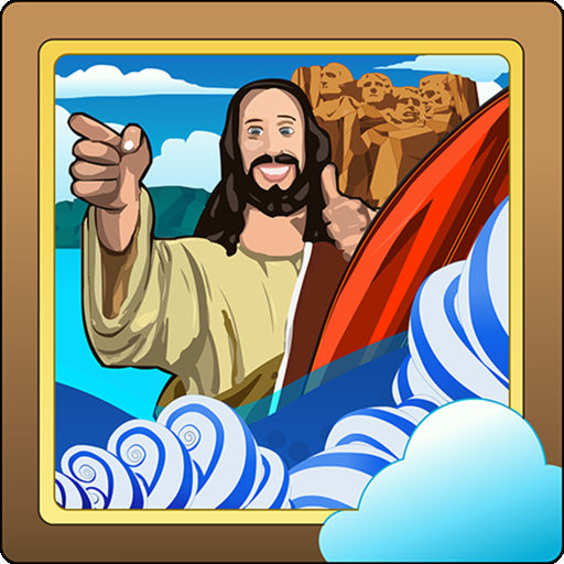 Buddy Jesus And The Surfing Disciples