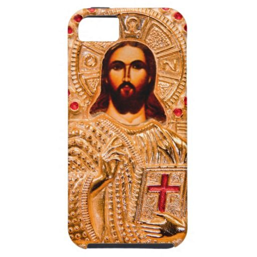 Jesus Christ Golden Icon Iphone Case Iphone Cases