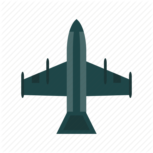 Fighter, Jet, Plane Icon