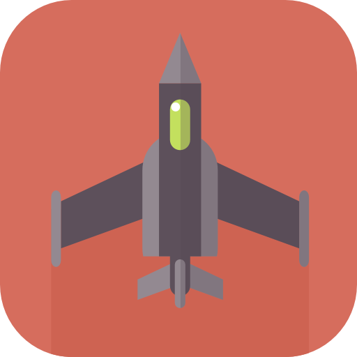 War, Airplane, Jet Icon