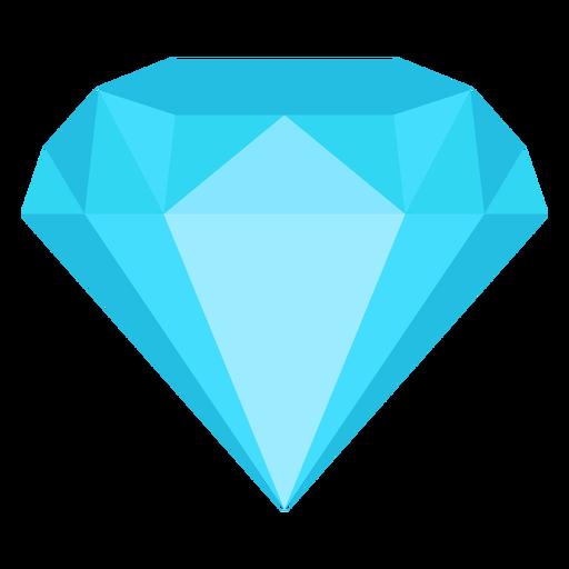Diamond Jewel Flat Icon