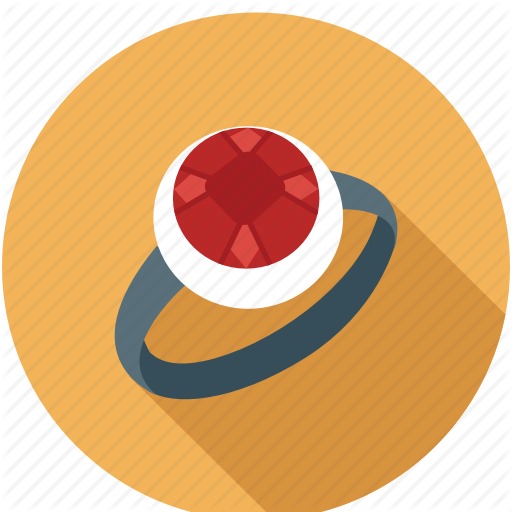 Jewellery, Jewelry, Jewelry Ring, Red Ring, Ring Icon