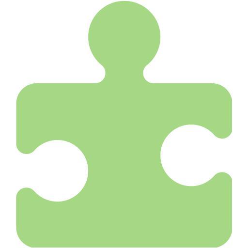 Guacamole Green Puzzle Icon